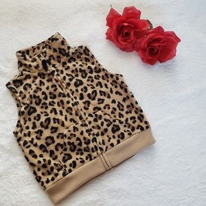 Carter's vest for girl size 6 months animal print